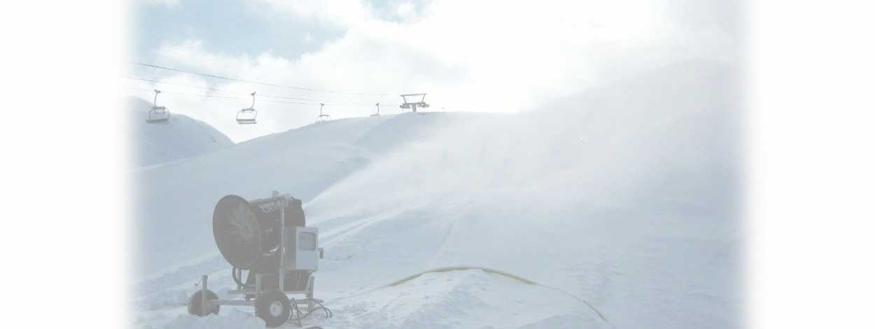 MORE THAN 5000 KM OF SNOWMAKING